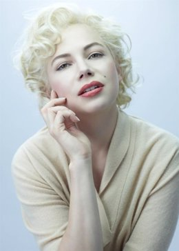 Michelle Williams como Marilyn Monroe en 'My Week With Marilyn'