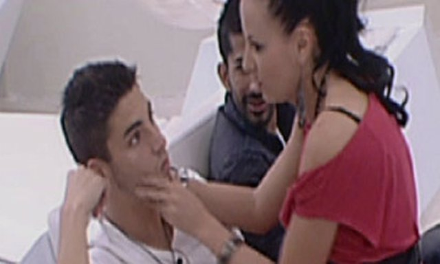 Laura y Marcelo de Gran hermano