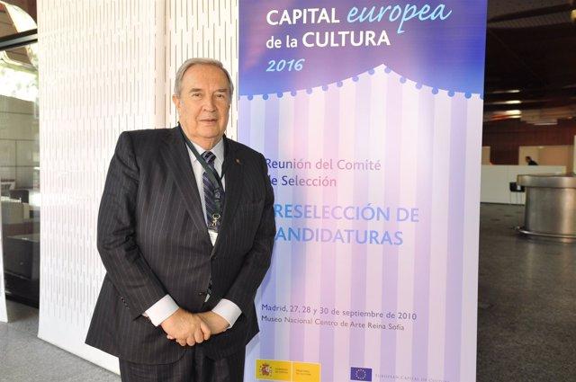 El alcalde de Las Palmas de Gran Canaria, Jerónimo Saavedra.