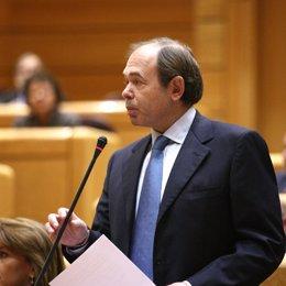 Pío García Escudero en el Senado