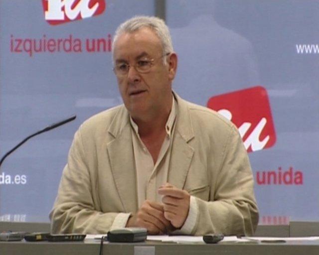 Cayo Lara, secretario general de IU
