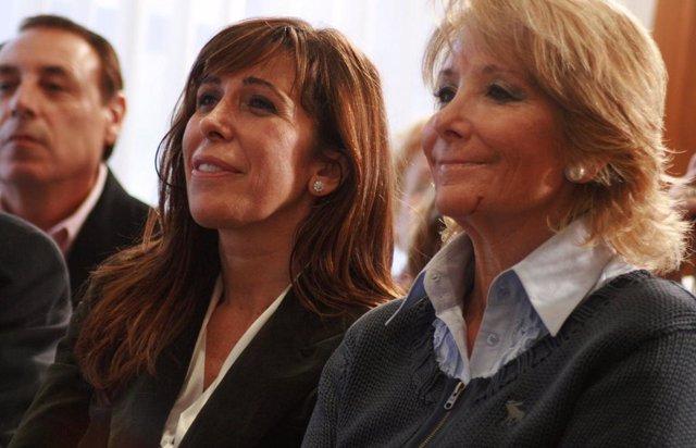 Aguirre y Camacho el pasado lunes en Roses