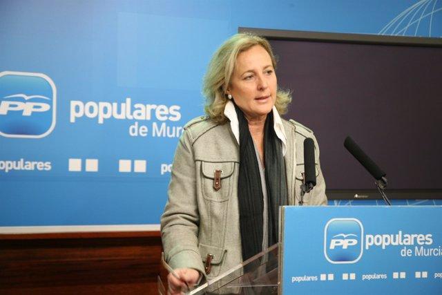 La diputada nacional por Murcia y portavoz de Política Social del Grupo Popular