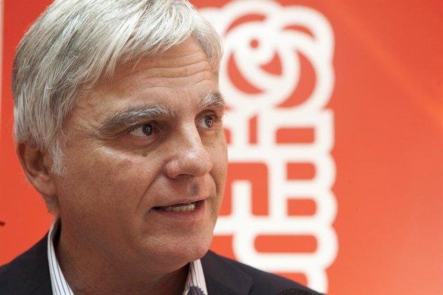 El Secretario General de los Socialistas Canarios, José Miguel Pérez