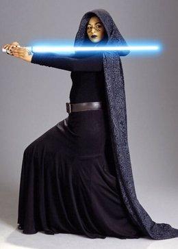 La 'Jedi' Nalini Krishan Star Wars