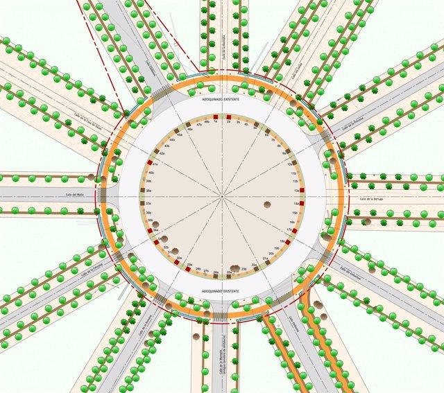 Plano del proyecto Doce Calles