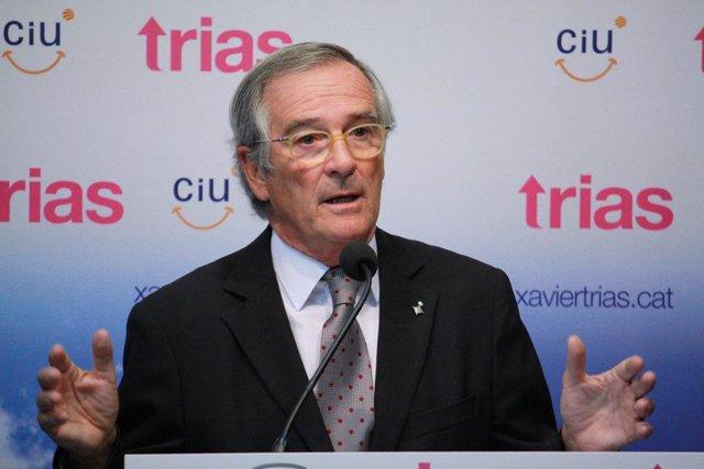 El líder de CiU en Barcelona, Xavier Trias.