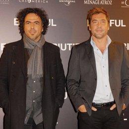 Javier Bardem y González Iñárritu presentan Biutiful