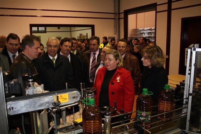 Foto Y Pie Inauguración Cooperativa Baeza