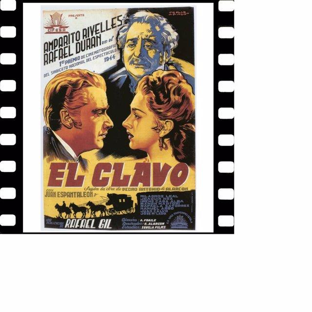 Cartel de 'Memoria y cine: el retorno de Cifesa'