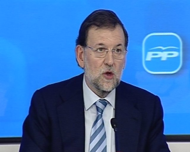 Rajoy en el Comité Ejecutivo Nacional