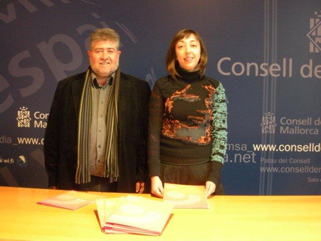 Joan Font y Rosa Barceló