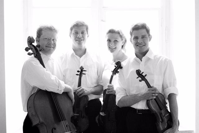 El cuarteto Henschel, en el ciclo 'Grandes Intérpretres' del Gayarre.