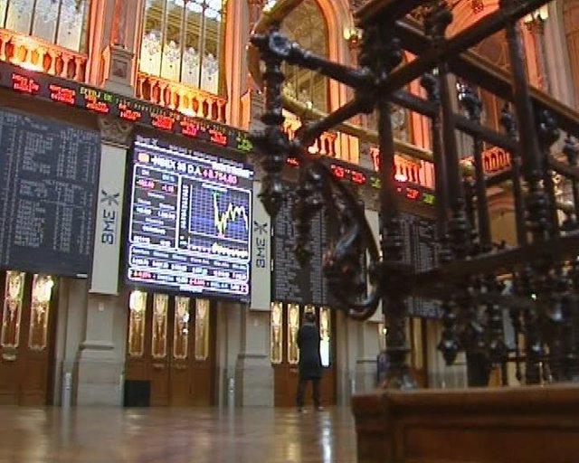 La Bolsa cae un 1,12%