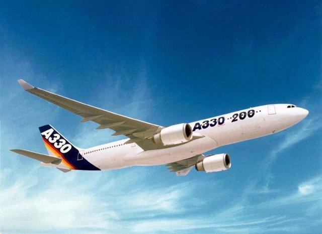 Imagen de un Airbus A330, uno de los que se fabrican en Cádiz