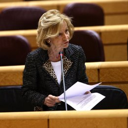 Salgado en el Pleno del Senado