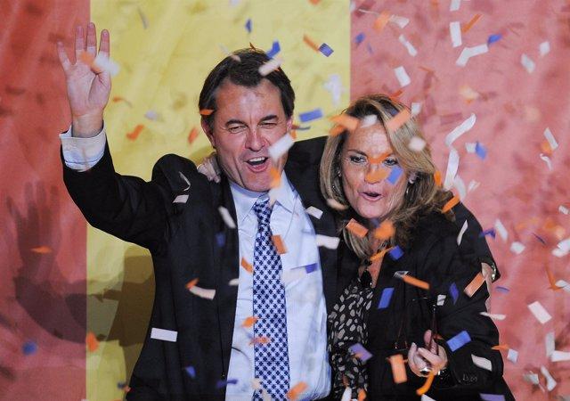 Artur Mas gana las elecciones