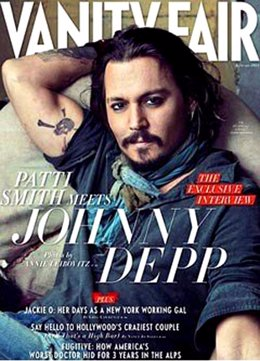 Johnny Depp para Vanity Fair