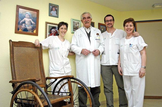 medicos paraplejicos