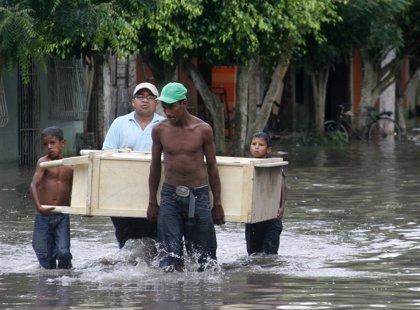 Ascienden a 174 los muertos por el temporal de lluvias en Colombia