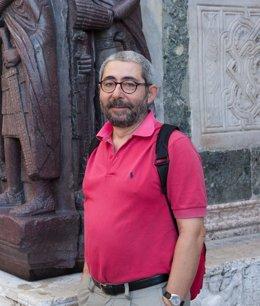 El director del Conjunto Arqueológico de  Itálica.