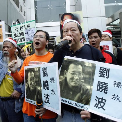 Un total de 19 países boicotearán la concesión del Nobel a Liu Xiaobo