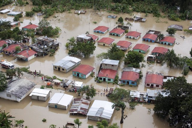 Caracas bajo el agua