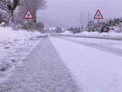 Remite el temporal con un sólo puerto cerrado al tráfico por nieve en Burgos