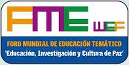 Logo del Foro Mundial de Educación que se celebra en Santiago de Compostela