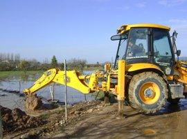 Desactivado el Plan de Inundaciones ante la mejora de la situación y el descenso del nivel de caudales