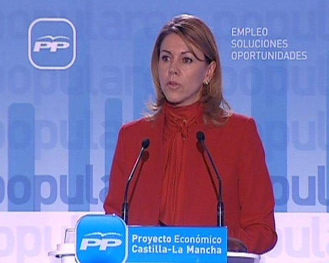 """Cospedal: """"Las reformas urgen ya"""""""