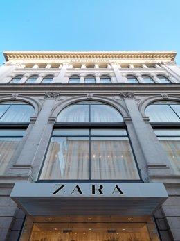 Tienda de Zara en la Vía del Corso (Roma)