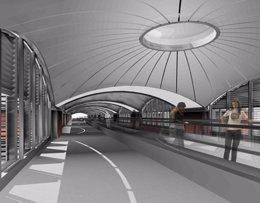 Estación de Atocha tras las obras de ampliación