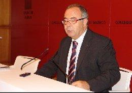 El alcalde de Santiago, Xosé Sánchez Bugallo