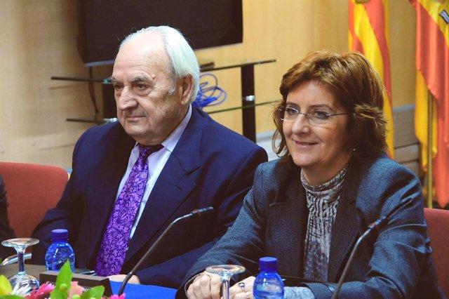 José Bada y María Victoria Broto
