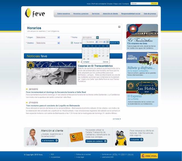 web de Feve