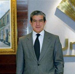 El presidente de Unicaja, Braulio Medel