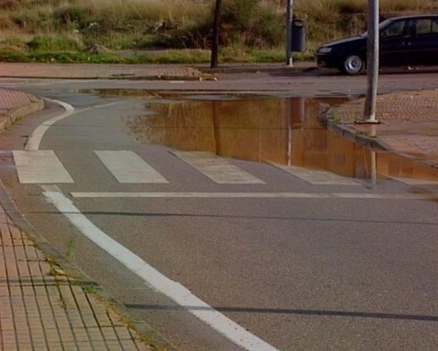 Imagénes de las consecuencias de la lluvia en Cáceres.