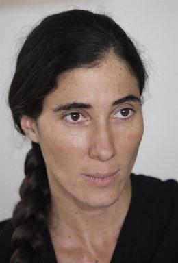 La bloguera cubana Yoani Sánchez