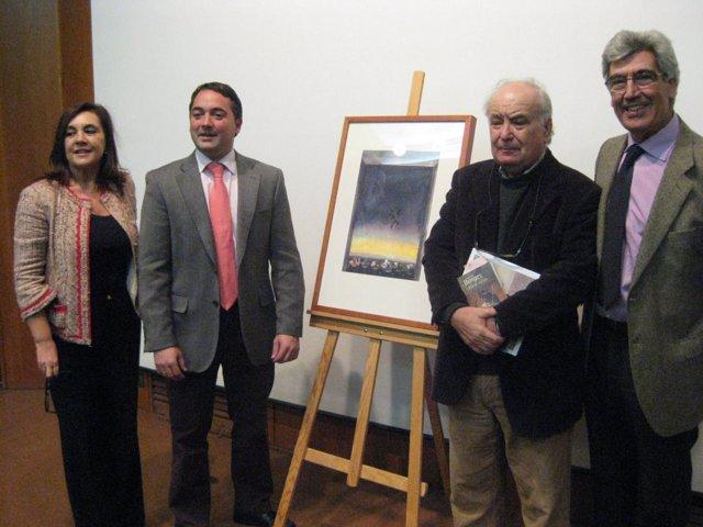 Cristóbal Toral homenajea a Borges en el Palacio Almudí