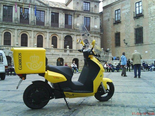 motos de Correos en Toledo