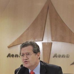 presidente de Aeropuertos Españoles y Navegación Aérea (AENA), Juan Ignacio de L