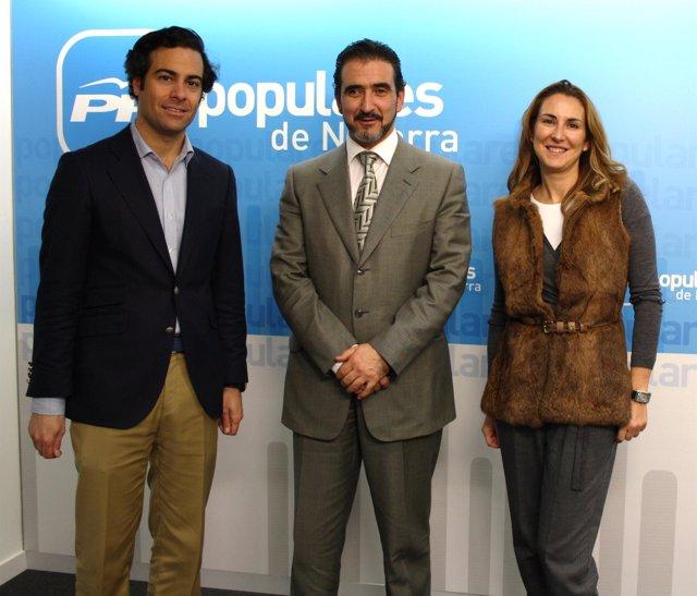 El PPN se reúne con la Asociación de Autónomos de Navarra.