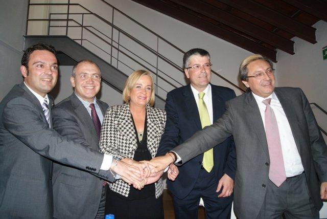 Firmantes del Plan de Competitividad Turística de Benicarló-Peñíscola.