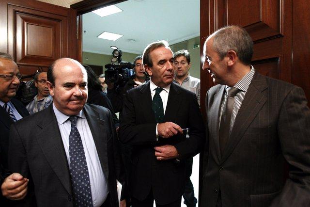 Alonso y Erkoreka, en el Congreso