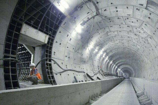 Imagen de las obras del Crossrail de Londres