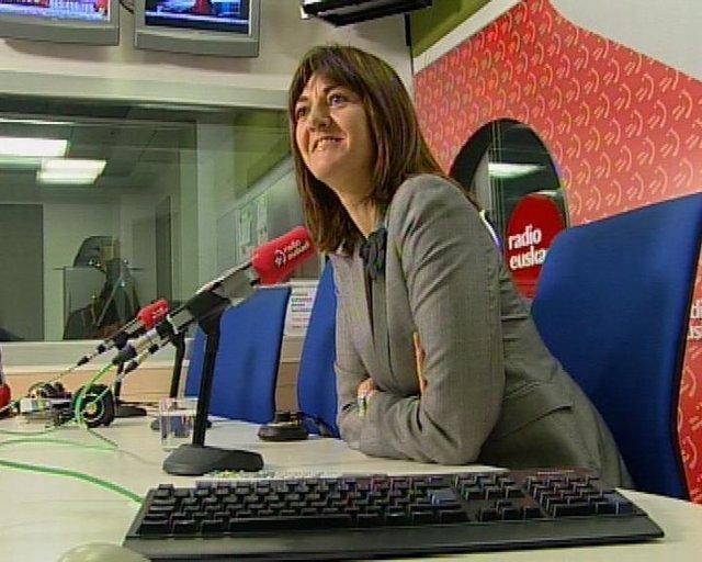 Idoia Mendía, Portavoz Gobierno Vasco