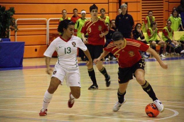 España cae ante Portugal