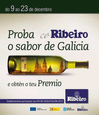 El Consello Regulador de la D.O. Ribeiro premia el consumo de sus vinos en locales de Vigo y Pontevedra