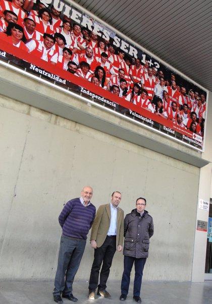 Cruz Roja Navarra lanza la campaña '1 Más' para sumar voluntarios